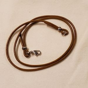 Light Brown Leather Cord